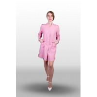 Халат розовый женский 123