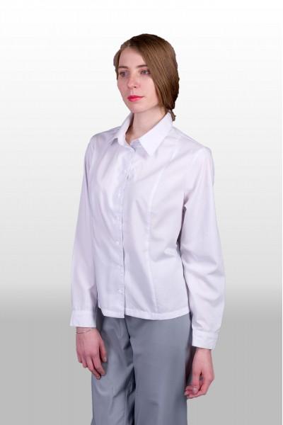 Блуза 552  белая, женская