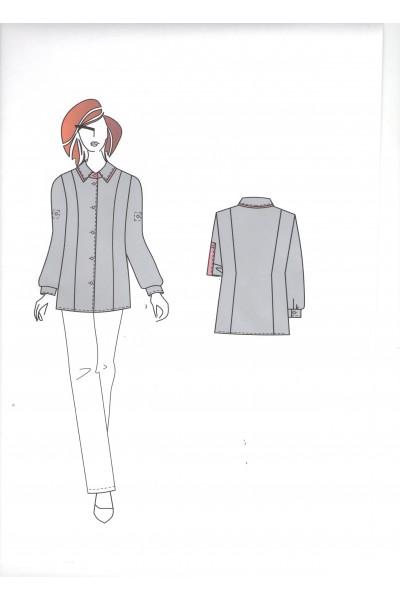 Блузка 0552А