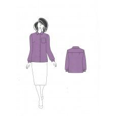 Блузка 0558 вариант 2