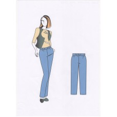 Брюки женские  0229