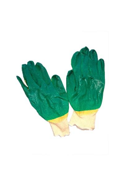 Перчатки х-б с латексным покрытием