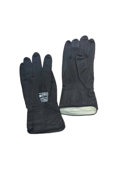 Перчатки противокислотные, резиновые (тиип 2).Р-р 10