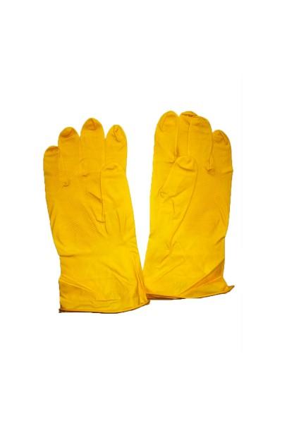 Перчатки хозяйственные латексные. Р-р 9
