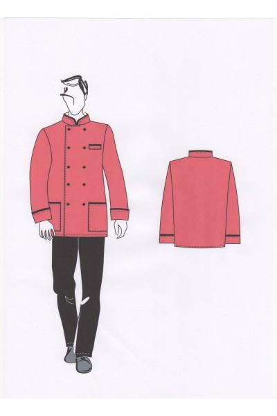 Куртка повара мужская 02-05-05