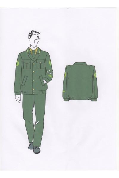 Куртка мужская 02-06-04 (форменная)