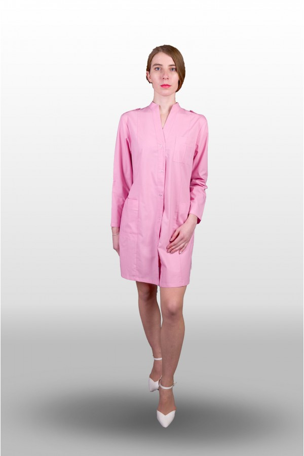 Халат розовый женский 123 пошив под заказ ПТУП Баркос ОО БелОИ