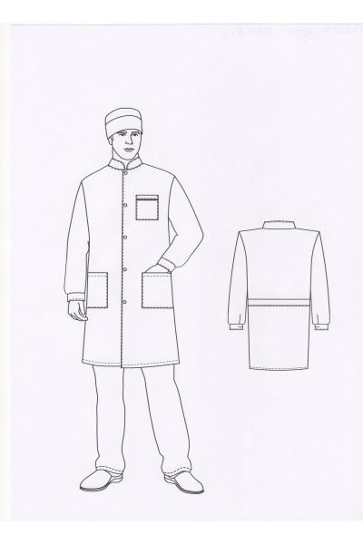 Халат мужской 0106А-1