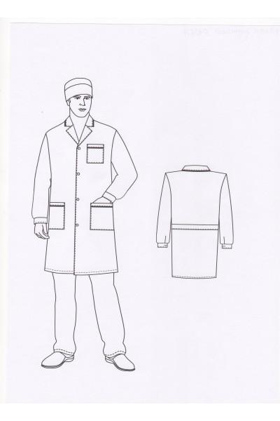 Халат мужской 0106А