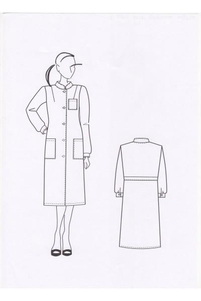 Халат женский 0107-1