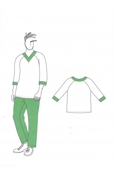Сорочка мужская для пекаря 0571