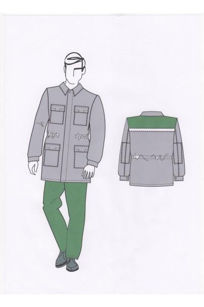 Куртка мужская 0054А