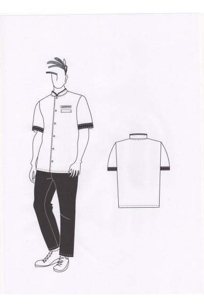 Сорочка мужская 0566